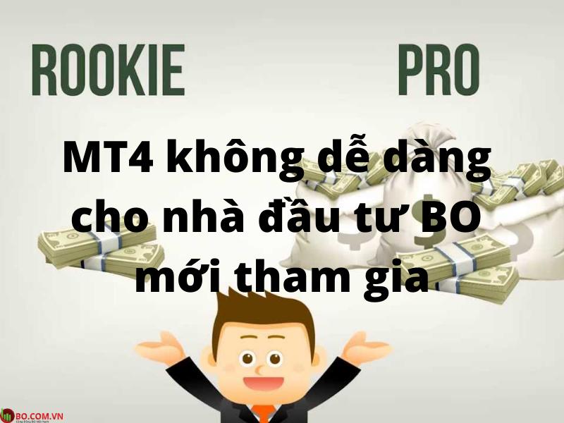 MT4 có dễ dàng cho nhà đầu tư binary option Việt Nam