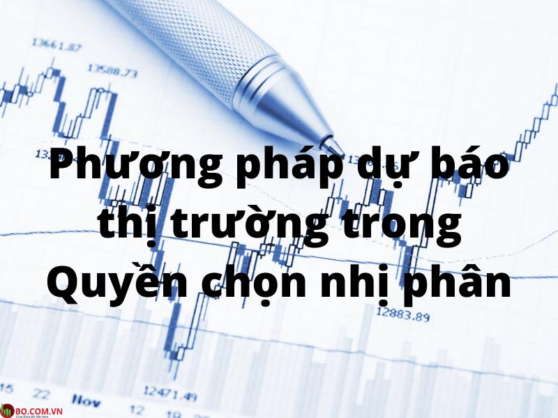 Phương pháp dự báo thị trường trong giao dịch Quyền chọn nhị phân