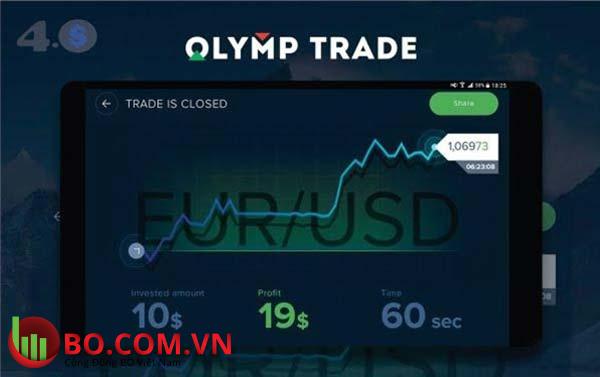 Sàn đầu tư nhị phân - Olymp Trade