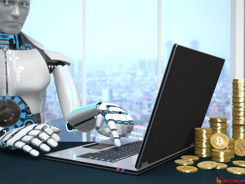 Robot giao dịch nhị phân tự động.