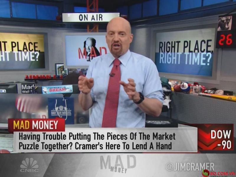 Jim Cramer trên chương trình Mad Money