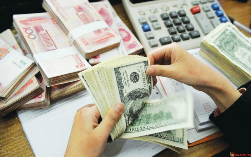 Đồng USD có xu hương tăng, đồng Nhân dân tệ giảm nhẹ.