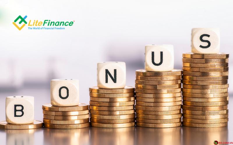 Các chương trình khuyến mãi, phí hoa hồng tại sàn LiteFinance