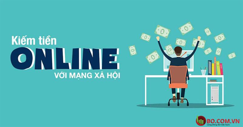 Cơ hội kiếm tiền online