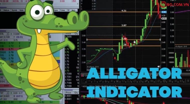 Chỉ báo alligator trong giao dịch BO