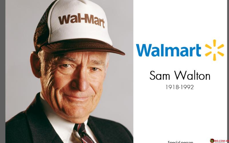 Nhà sáng lập Sam Walton đã qua đời năm 1992