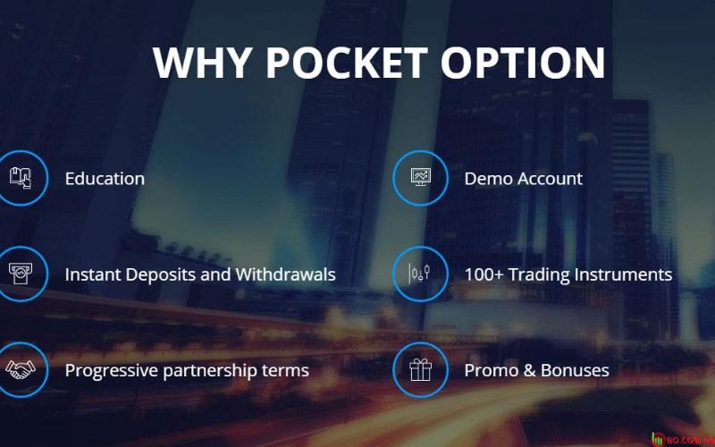 Sàn giao dịch Binary Option uy tín - Pocket Option
