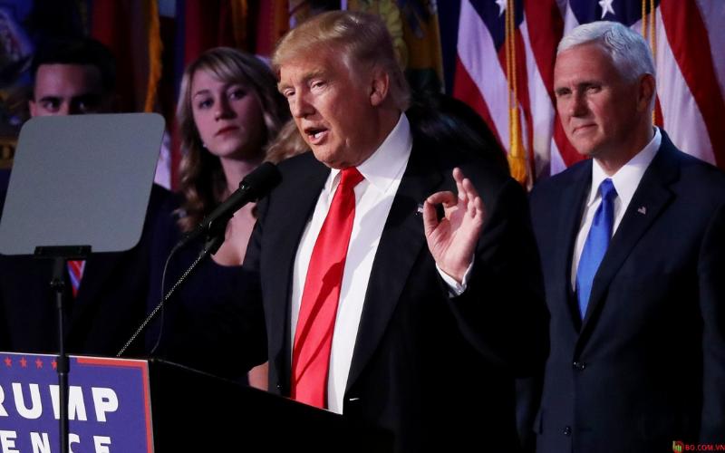 chiến thắng được cho là của Trump có thể mang lại lợi ích cho các công ty quốc phòng và nhiên liệu hóa thạch