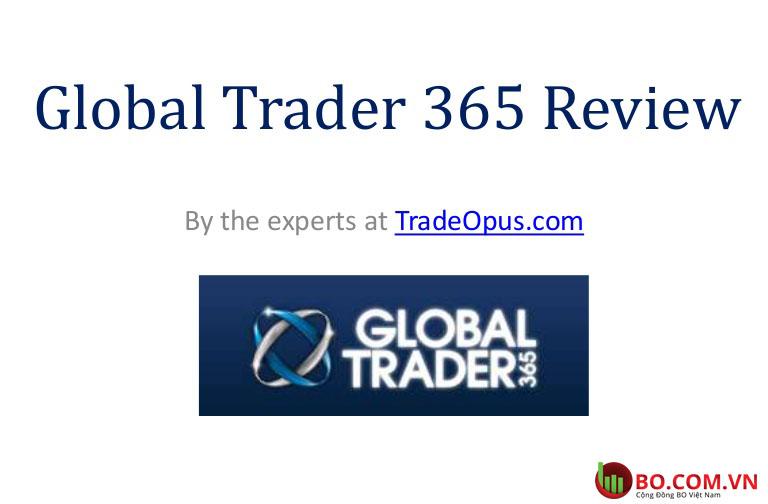 Đánh giá sàn GlobalTrader365