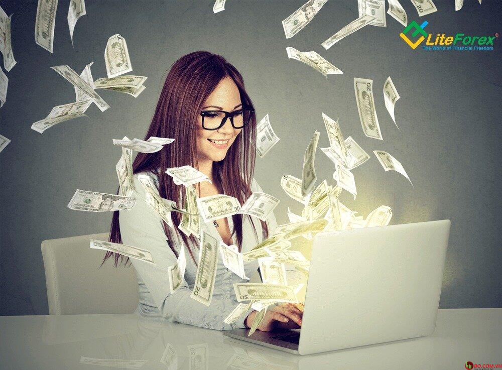 Số tiền ký quỹ có trên tài khoản Demo tại LiteForex là một số vốn ảo
