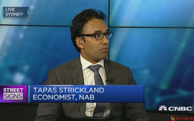 Tapas Strickland của Ngân hàng Quốc gia Australia
