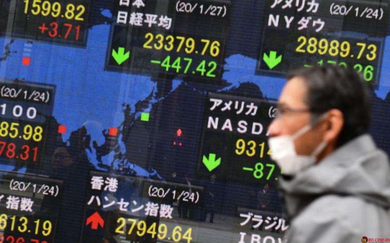 Thị trường Châu Á giảm khi dữ liệu tiêu dùng Mỹ gây thất vọng