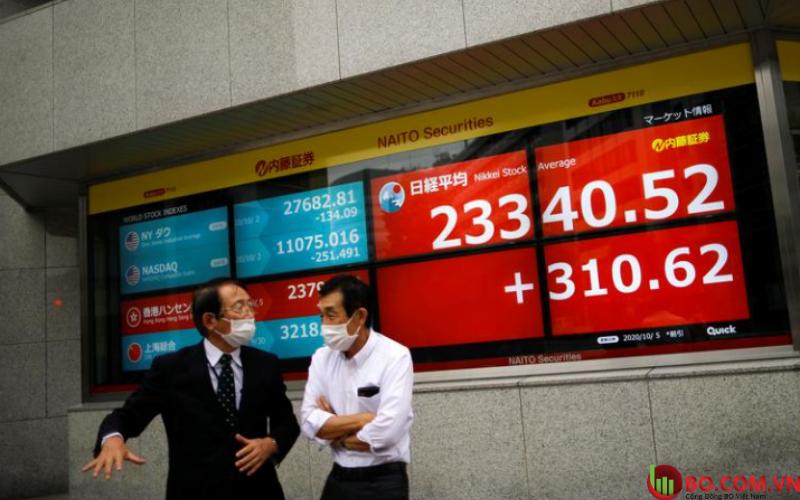 Thị trường chứng khoán tăng