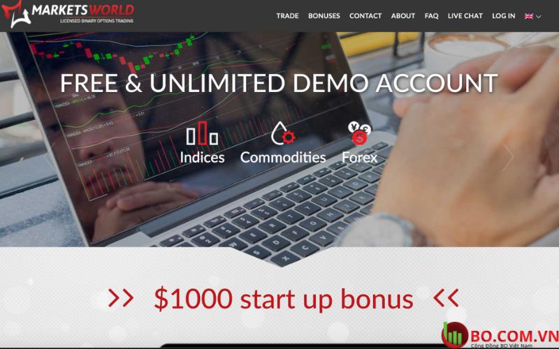 sàn giao dịch MarketsWorld