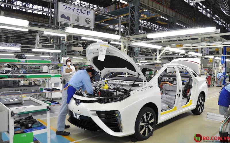 Sản lượng của nhà máy Nhật Bản tăng