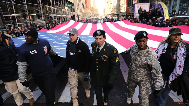 Thị trường trái phiếu Hoa Kỳ đã đóng cửa vào thứ tư để tuân theo Ngày Cựu chiến binh