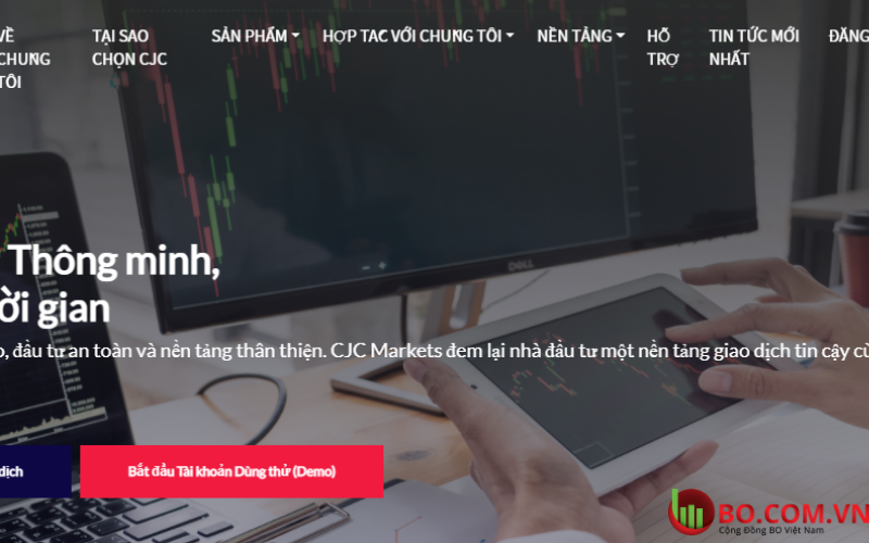 Đánh giá sàn CJC Market CJC Market lừa đảo