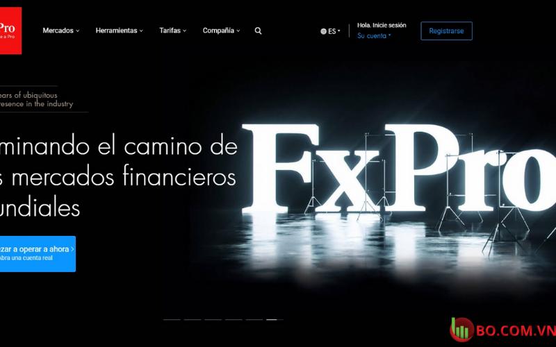 Đánh giá sàn FXPro