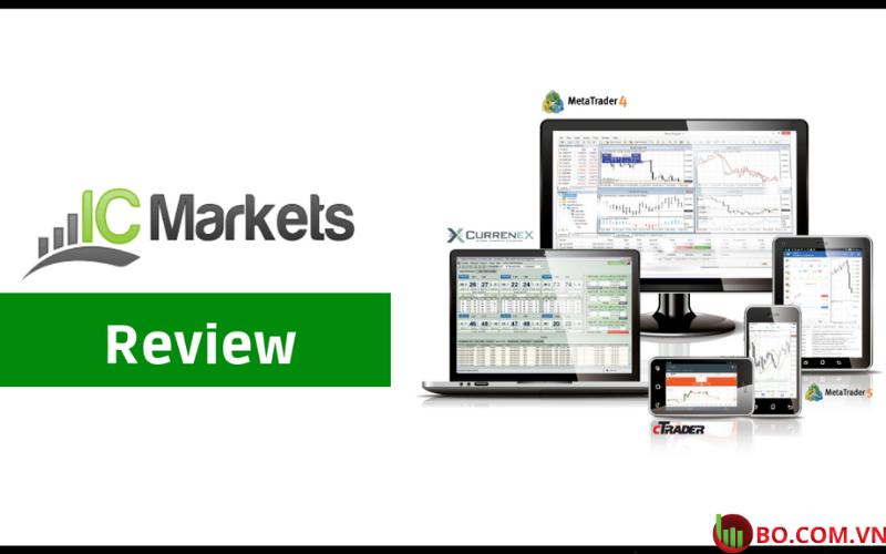 nh giá sàn ICMarkets cho trader mới