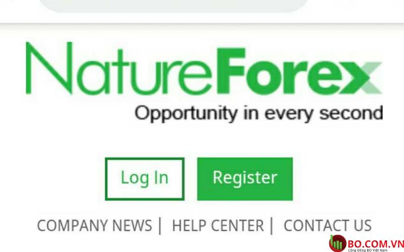 Đánh giá sàn NatureForex cho nhà đầu tư mới