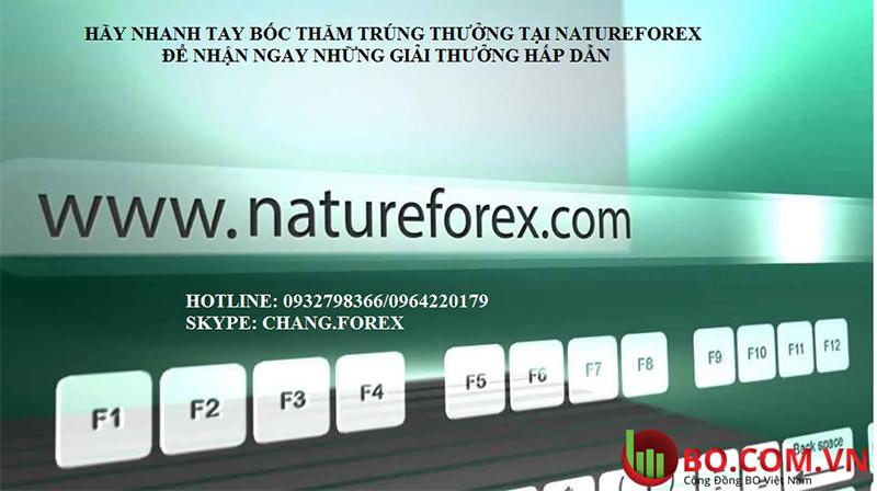 Chương trình khuyến mãi tại NatureForex