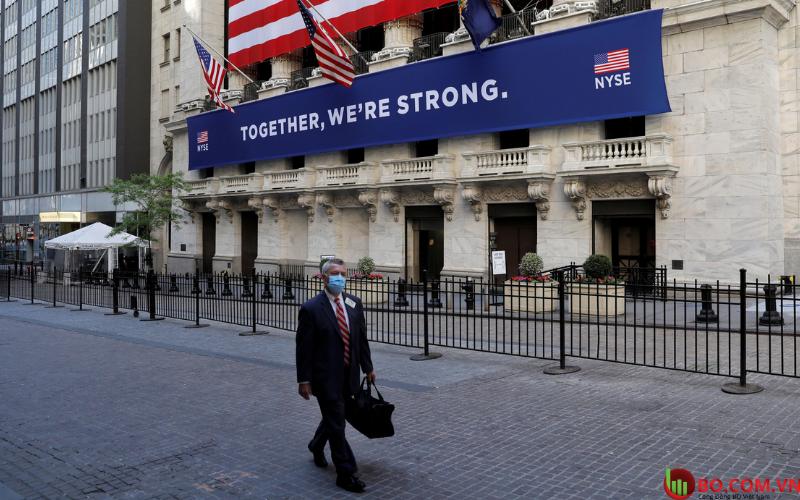 Chỉ số Dow tương lai tăng