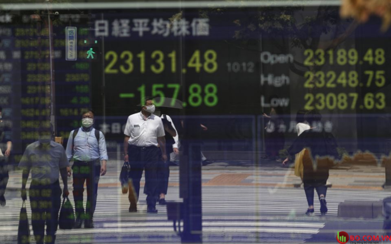 Chỉ số Nikkei 225 đi ngang
