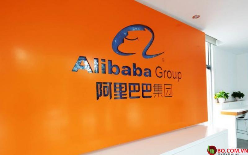 Giá cổ phiếu Alibaba