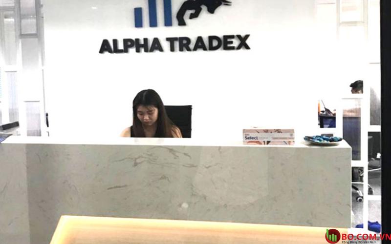 Sự thật Alpha Tradex lừa đảo hay không