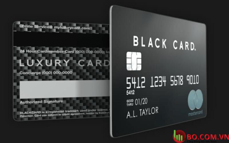 Các đặc quyền của Black card là gì