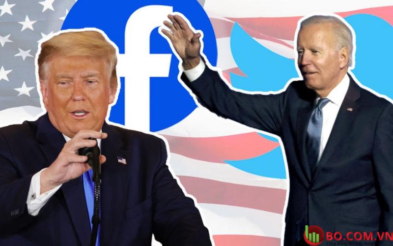 Cả youtube và facebook đồng loạt gỡ bỏ các video do phía Trump tải lên