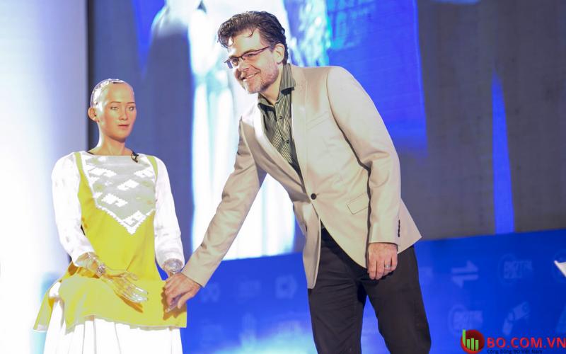 Người sáng lập kiêm giám đốc điều hành Hanson Robotics - David Hanson