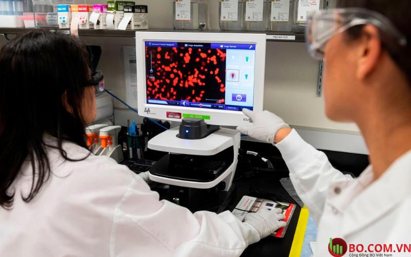 Novavax là một trong số các công ty đang phát triển một loại vắc-xin để chống lại Covid-19