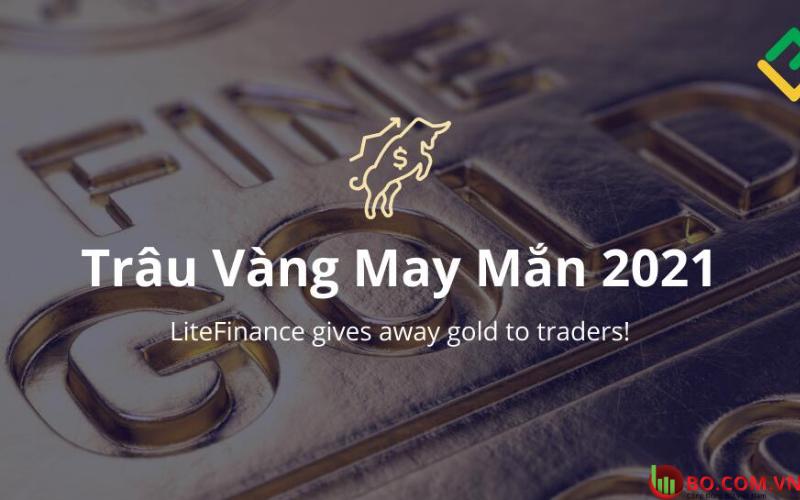 Thể lệ chương trình Trâu vàng may mắn LiteFinance