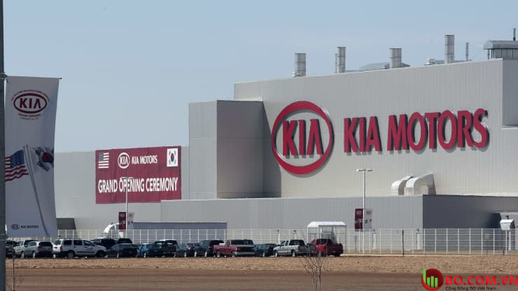 Cơ sở sản xuất Kia đầu tiên tại Hoa Kỳ ở bang Georgia