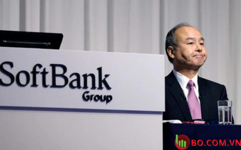 Cổ phiếu tập đoànSoftBank Group giảm 2,8%