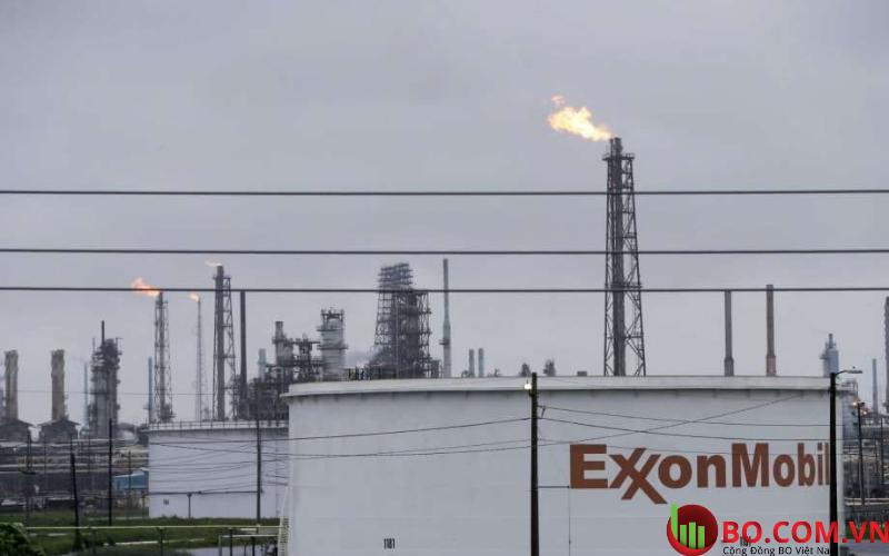 Nhà máy Baytown Olefins của Exxon Mobil Corp
