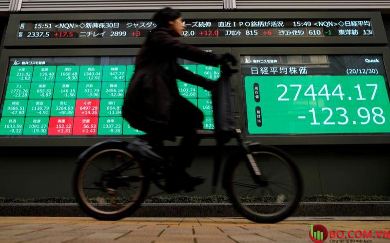 Thị trường Châu Á mở cửa hỗn hợp vào thứ tư