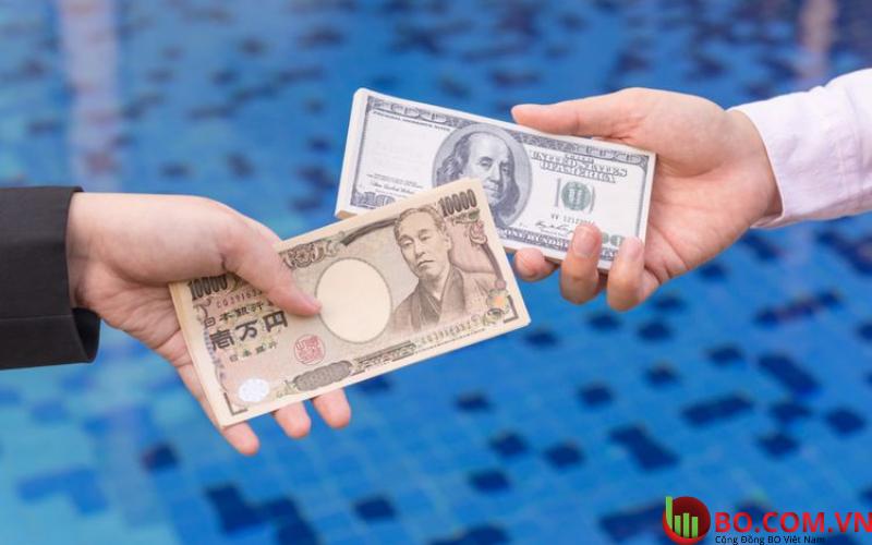 Đồng yên Nhật Bản trao tay tại 109,02 USD