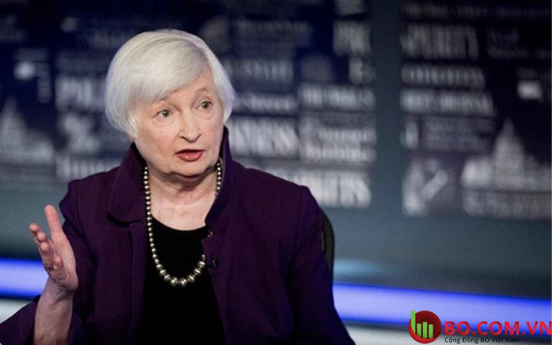 Bộ trường tài chính Mỹ Janet Yellen