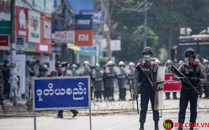 Các nước lên án hành động bạo lực của quân đội Myanmar đối với người dân