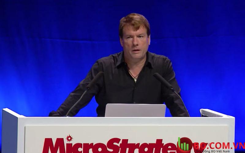 Giám đốc điều hành của MicroStrategy Inc., Michael Saylor