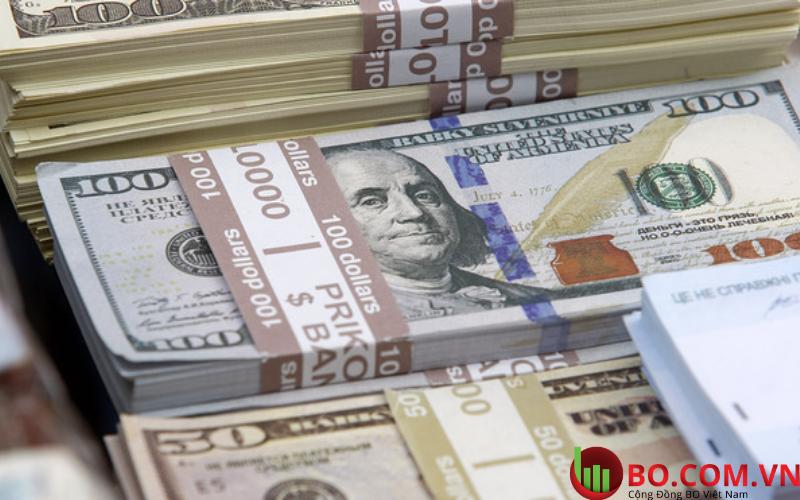 Hợp đồng tương lai của Chỉ số Đô la Mỹ ở mức 91,990