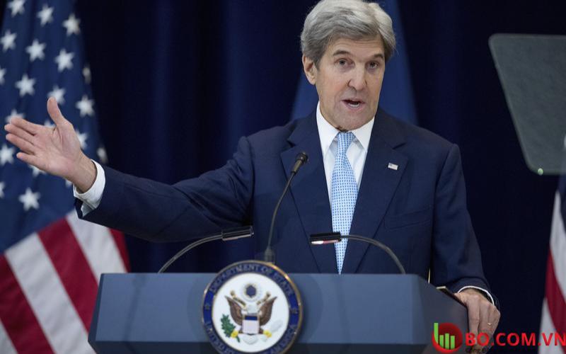 Đặc phái viên khí hậu của chính quyền Biden John Kerry