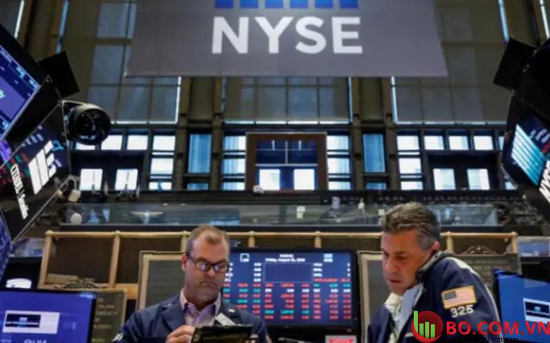 Các cổ phiếu đã giảm
