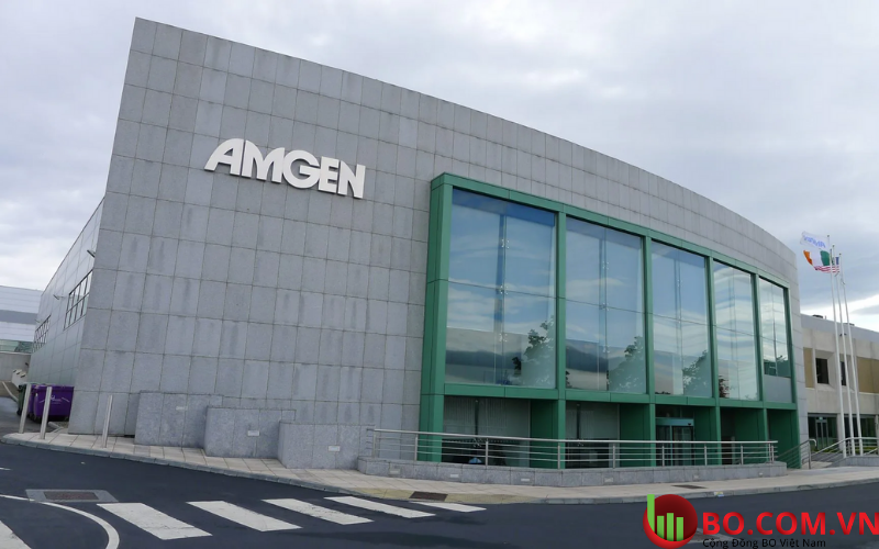 Doanh thu và lợi nhuận quý của Amgen giảm