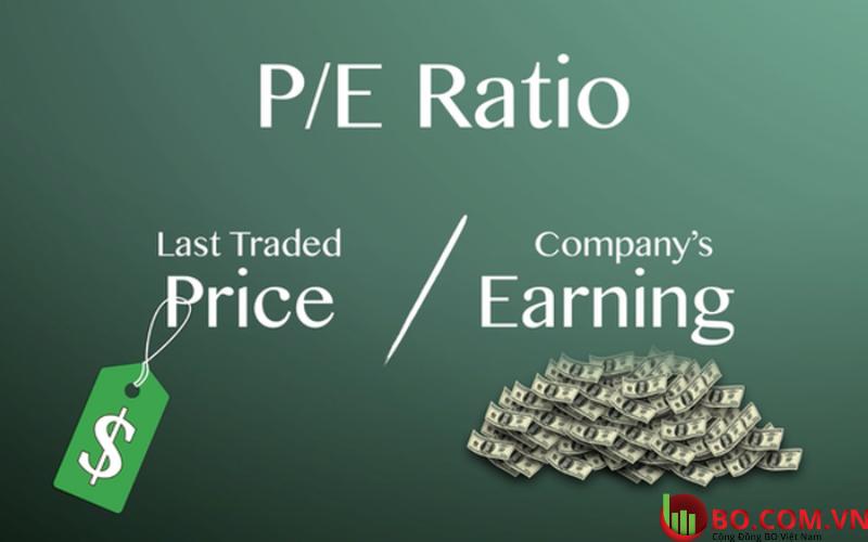 So sánh các công ty sử dụng chỉ số PE
