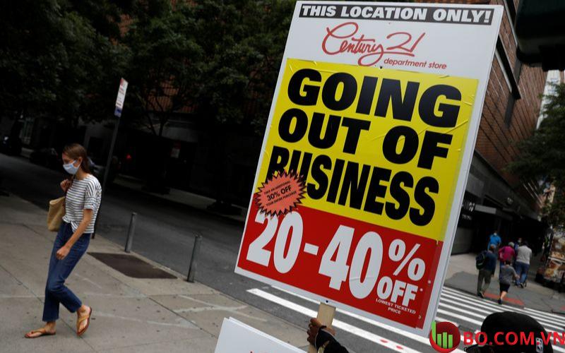 Tỷ lệ phá sản ở Hoa Kỳ tăng cao trong tháng 3