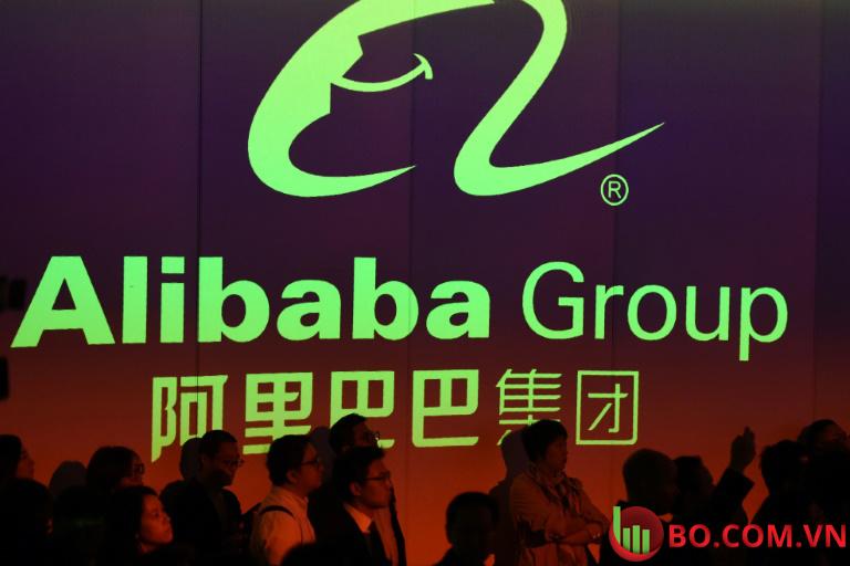 cổ phiếu Alibaba đã tăng hơn 3%