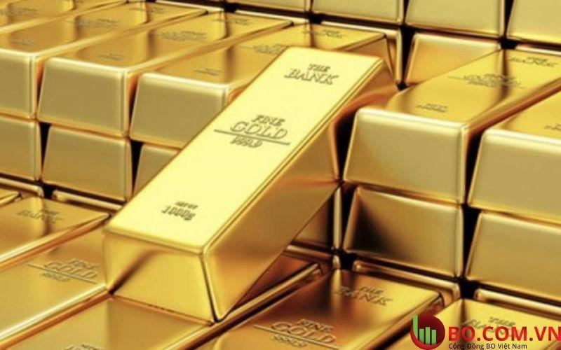 Tình hình giá vàng thế giới tiếp tục giảm